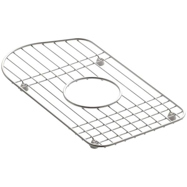 Kohler Staccato 15 inch x 8-7/16 inch Bottom Basin Rack in Stainless-Steel
