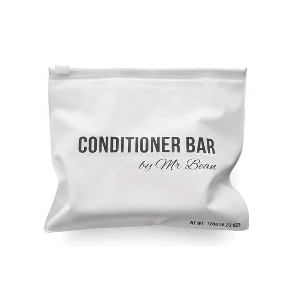 Mr Bean Organic Coconut Oil and Natural Argan Oil Conditioning Bar