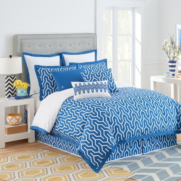 Jill Rosenwald Plimpton Flame Reversible Comforter Set 16866444