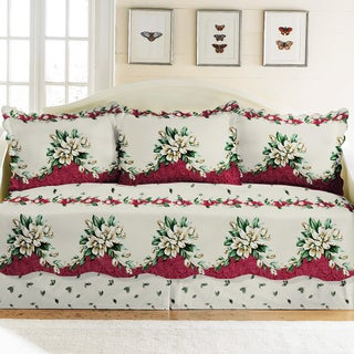 Melissa Floral Five-piece Daybed Set