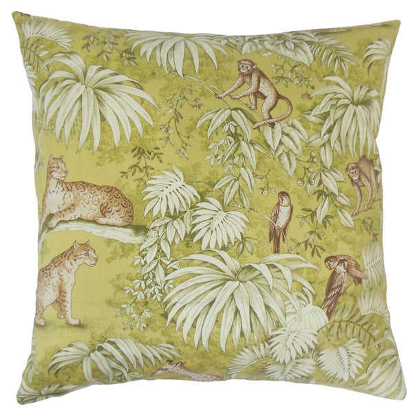 Ender Graphic 18-inch Throw Pillow