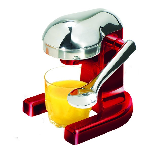Metrokane Mighty Red OJ Manual Juicer