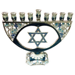 Jeweled Menorah
