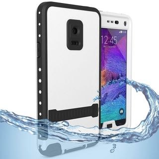 Insten Hard Snap-on Rubberized Matte Waterproof Case Cover with Stand For Samsung Galaxy S5