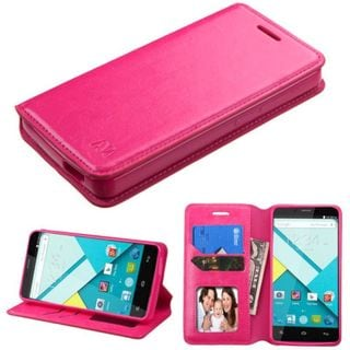 Insten Leather Case Cover with Stand/ Wallet Flap Pouch/ Photo Display For BLU Studio Energy