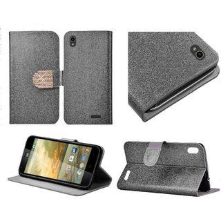 Insten Leather Glitter Case Cover with Stand/ Diamond For ZTE Warp Elite