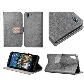 Insten Leather Glitter Case Cover with Stand/ Diamond For HTC Desire 626/ 626s