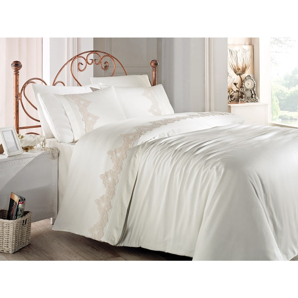 Debage Inc. City Sleep 6-piece Bistro Queen Duvet Cover Set
