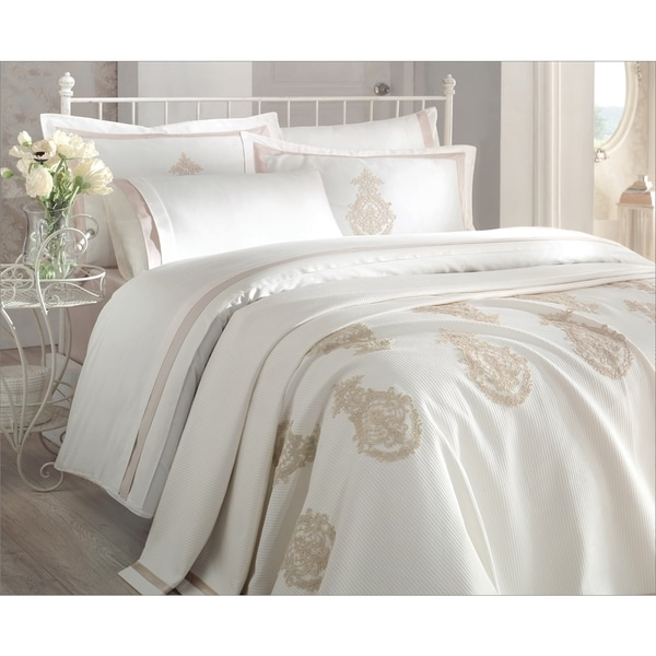 Debage Inc. City Sleep 7-piece Azur Queen Duvet Cover and Blanket Set