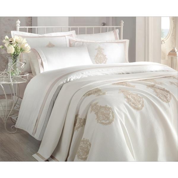 Debage Inc. City Sleep 7-piece Azur Queen Duvet Cover and Blanket Set