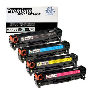 Compatible Canon 118 KCYM Multicolor Toner Cartridge for Printers ImageClass LBP7200CDN MF8350CDN (Pack of 4)