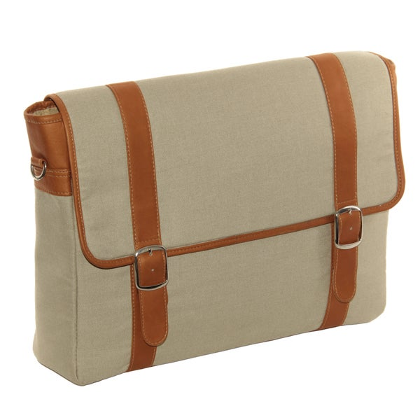 Piel Leather Flap-over Laptop/ Tablet Portfolio