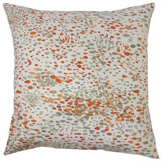 Yash Graphic 18-inch Feather and Down Filled Throw Pillow