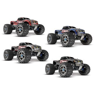 Traxxas E-Maxx 39087-3 0.1 4WD Brushless Electric Monster Truck with TSM