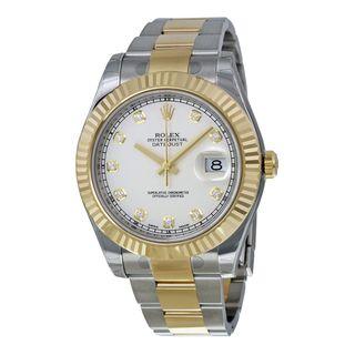 Rolex Men's Datejust II Ivory Dial Watch