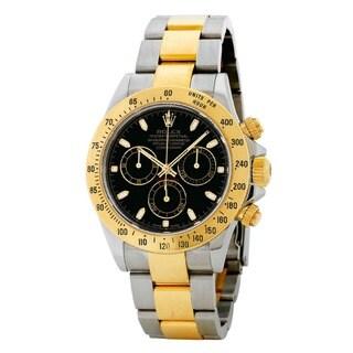 Rolex Men's Daytona Black Dial Watch
