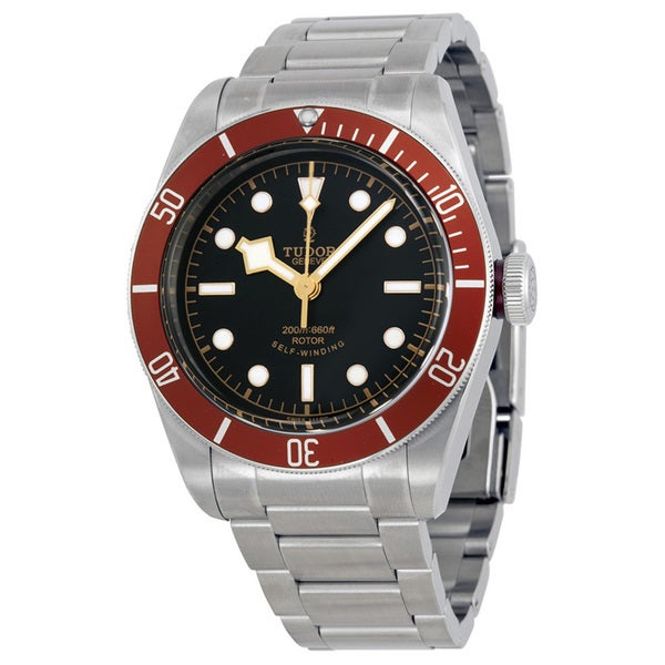 Tudor Men's 79220R Heritage Black Dial Watch
