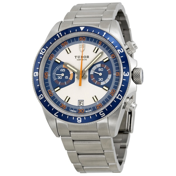 Tudor Men's 70330B Heritage Blue Dial Watch