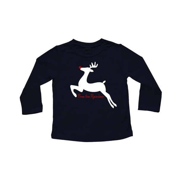 Rocket Bug 'Free the Reindeer' Baby Bodysuit