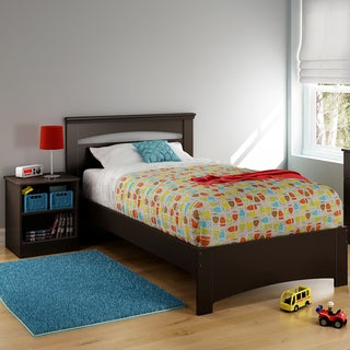 South Shore Libra Twin Bed Set (39'') with Nightstand