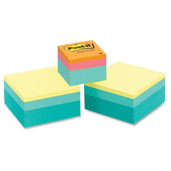 Post-it Bright Color Collection Value Pack - 3/PK