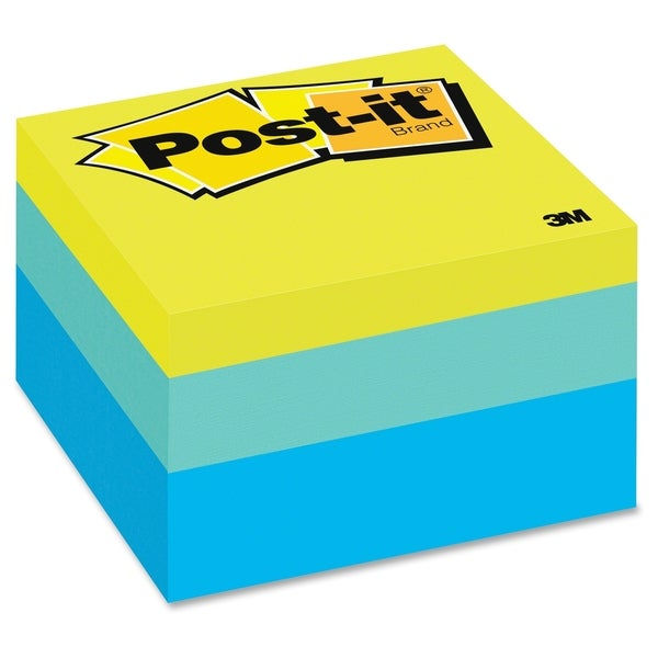 Post-it Blue Wave Note Cube - 470/PD