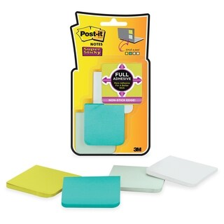 Post-it 2x2 Super Sticky Full Adhesive Notes - 200/PK