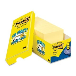 Post-it Pop-up Notes Cabinet Pack - 18/PK