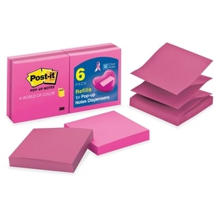 Post-it Pop-up Blush & Fuchia Notes - 6/PK