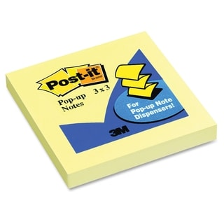 Post-it Pop-up Canary Refill Note - 100/PD