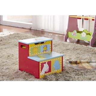 Children's Storage Step Stool