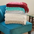 Popcorn Style Throw Blanket