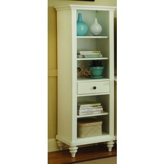 Home Styles Bermuda Brushed White Pier Cabinet