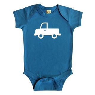 Rocket Bug Truck Baby Bodysuit