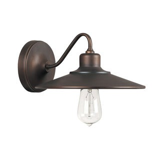 Capital Lighting Urban Collection 1-light Burnished Bronze Wall Sconce