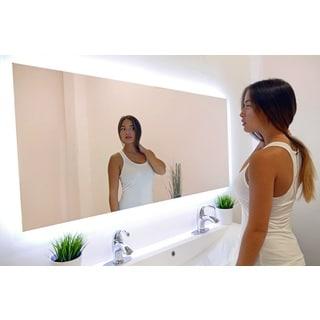 Rectangular Backlit Large LED Mirror