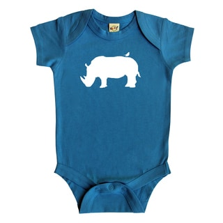 Rocket Bug Rhino Baby Bodysuit