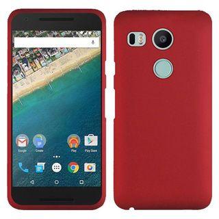 Insten Hard Snap-on Rubberized Matte Case Cover For LG Google Nexus 5X