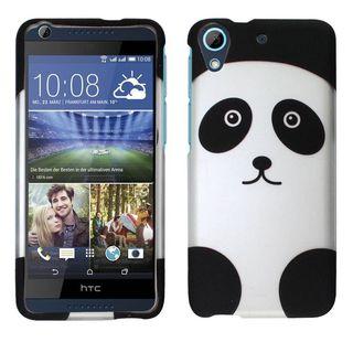 Insten Black/ White Panda Hard Snap-on Rubberized Matte Case Cover For HTC Desire 626/ 626s