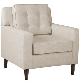 Skyline Furniture Arm Chair in Linen Talc