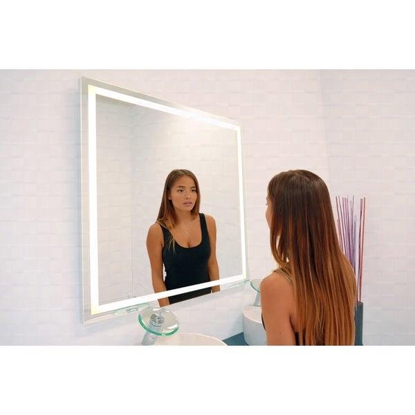 Harmony Illuminated Square LED Mirror