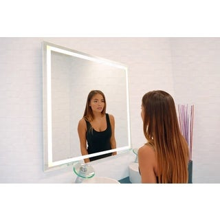 Harmony Illuminated Square LED Mirror
