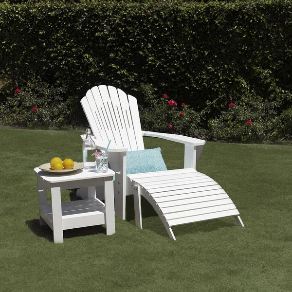 Laguna Collection Bamboo Adirondack Side Table by Majestic Home Goods