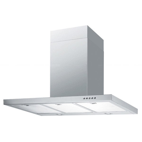 Contemporary l 30 inch Wall Mount Range Hood Overstock