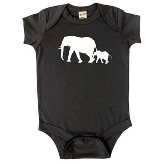 Rocket Bug Elephant Baby Bodysuit