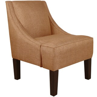 Skyline Furniture Swoop Arm Chair in Groupie Copper
