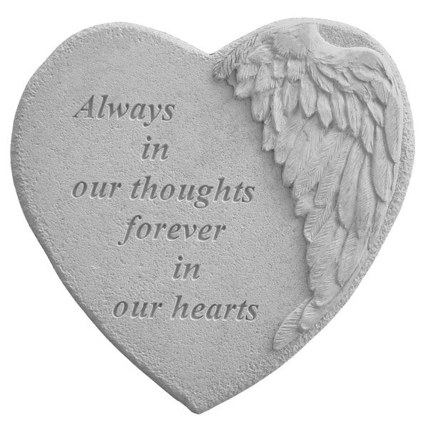 Kay Berry Always In Our Hearts Garden Accent Stone