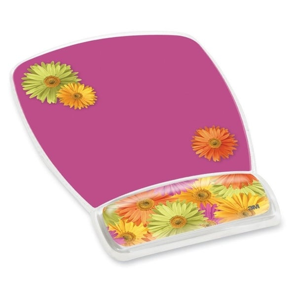 3M Gel Mouse Pads With Wrist Rest - 1/EA