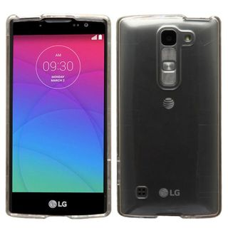 Insten Clear Hard Snap-on Crystal Case Cover For LG Escape 2/ Logos