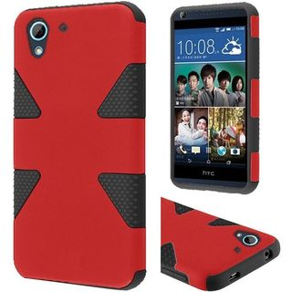 Insten Dynamic Hard PC/ Silicone Dual Layer Hybrid Rubberized Matte Case Cover For HTC Desire 626/ 626s